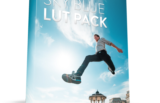 调色预设 SKY BLE LUT Pack  All Cameras for Premiere
