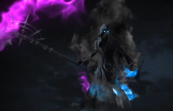 AE模板 – 死神镰刀LOGO标志开场片头 Cinematic Reaper Logo