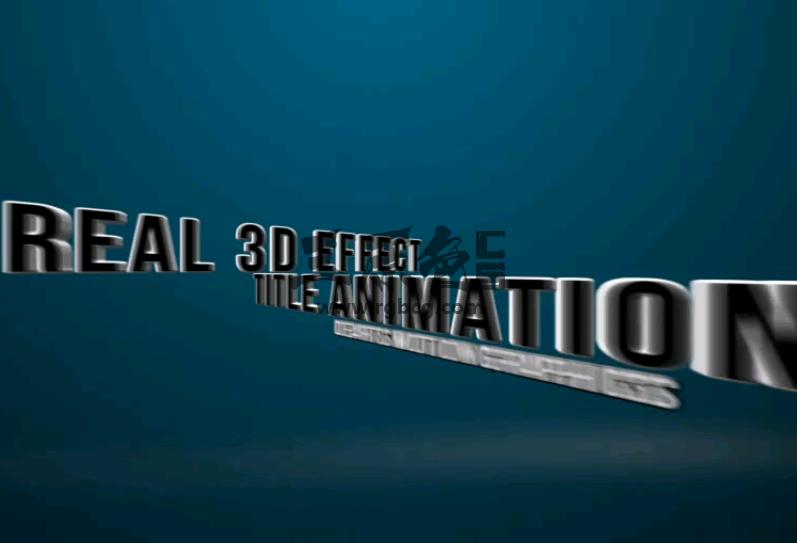 AE模板 - 800多个文字标题 字幕排版动画 Title Animations Ae 模板-第1张