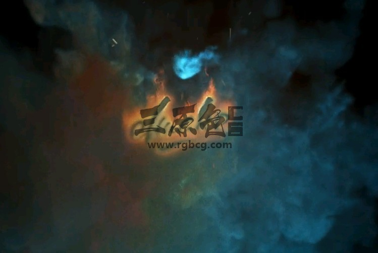 AE模板 - 火焰魔术特效LOGO显示动画片头 Fast Fire Logo Ae 模板-第1张