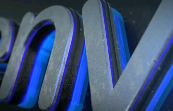 AE模板 – 三维发光LOGO文字标题片头 Glow Logo Reveal