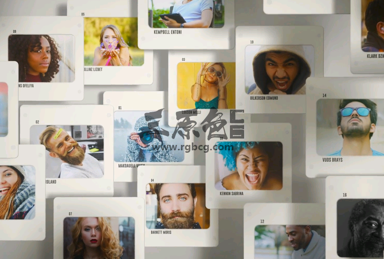 AE模板 - 创意旅游照片播放动画相册 Slides Logo Opener Ae 模板-第1张