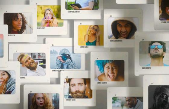 AE模板 – 创意旅游照片播放动画相册 Slides Logo Opener