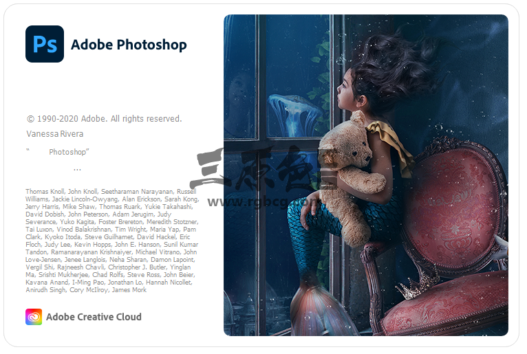 Adobe Photoshop 2020 v21.2 中文破解 一键安装版 Adobe 软件-第1张