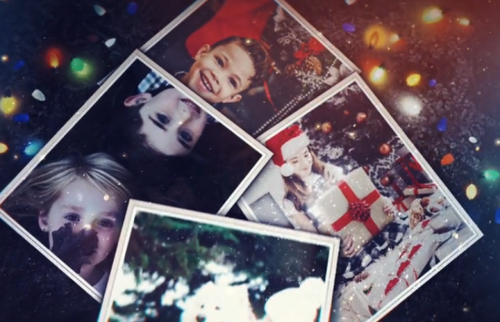 AE模板 – 圣诞照片幻灯片 Christmas Photo Slideshow