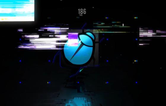 AE模板 信号不良 画面损坏特效LOGO片头 Glitch logo opener