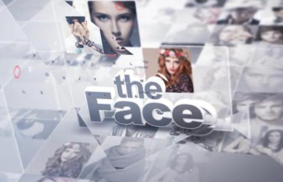 AE模板 动感时尚人物照片介绍片头 Faces Of The Day