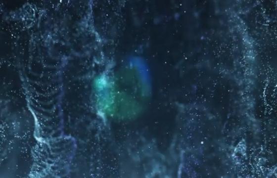 AE模板 – 魔术流体粒子片头 Magic Fluid Particles Logo