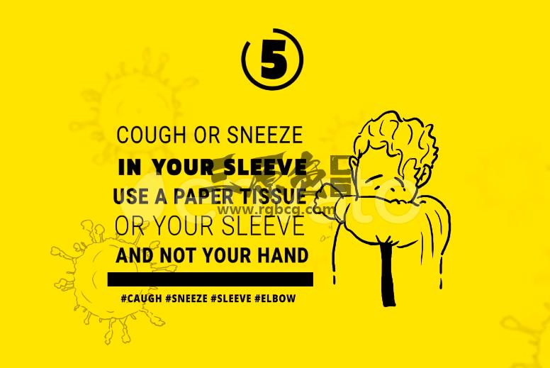 ae模板 - 新冠肺炎病毒防护知识动画 Coronavirus Animation Stay Safe Ae 模板-第1张