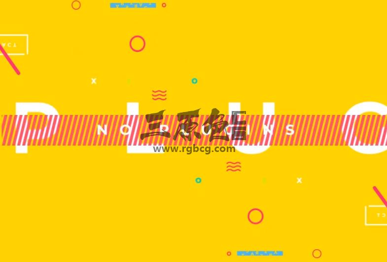 AE模板 - MG卡通动画元素片头 Logo Typo Opener Ae 模板-第1张