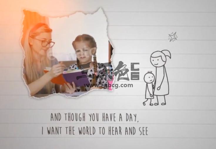 AE模板 - 母亲节视频贺卡 Mothers Day Greeting Ae 模板-第1张