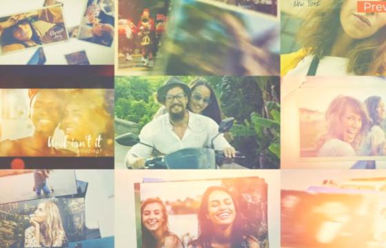 AE模板 – 照片幻灯片相册照片展示 Photo Slideshow Movie