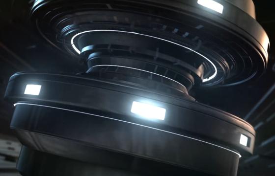AE模板 – 超酷机械动画LOGO显示片头 Techno Gaming Logo Reveal