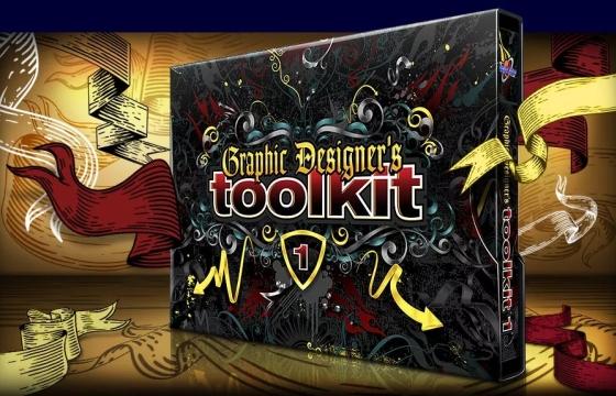 平面设计师素材工具包 Graphic Designer's Toolkit 1-5全 百度网盘下载
