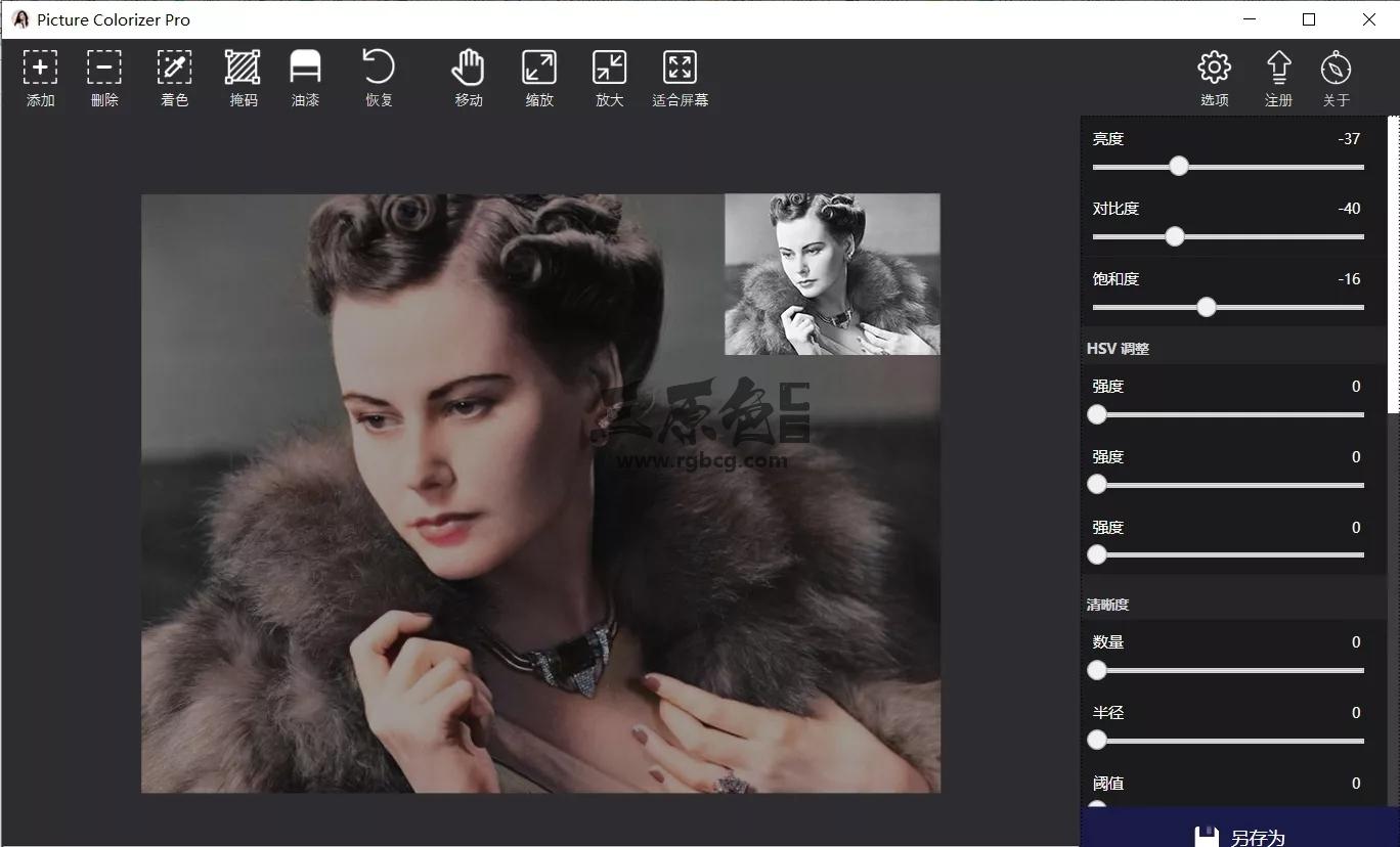 黑白照Ai一键上色软件 Picture Colorizer Pro v2.3.3 中文一键安装版 图形图像-第1张