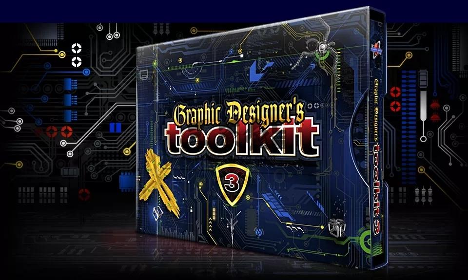平面设计师素材工具包 Graphic Designer's Toolkit 1-5全 百度网盘下载 PSD 模板-第3张