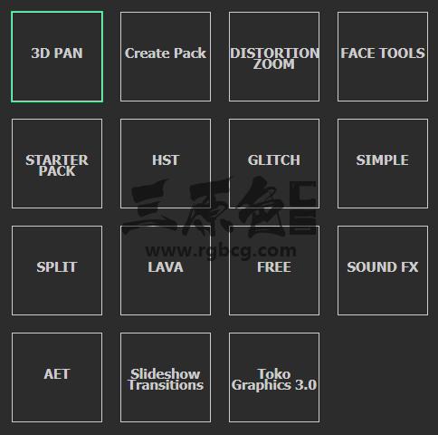 AE扩展脚本预设模板 - Motion Bro 转场过渡 MG图形动画  换脸变装 全套效果包 一键安装 Ae 插件-第2张