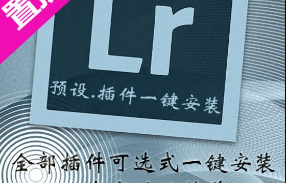 LR最新中文滤镜插件预设合集 一键安装 胶片调色磨皮降噪大全