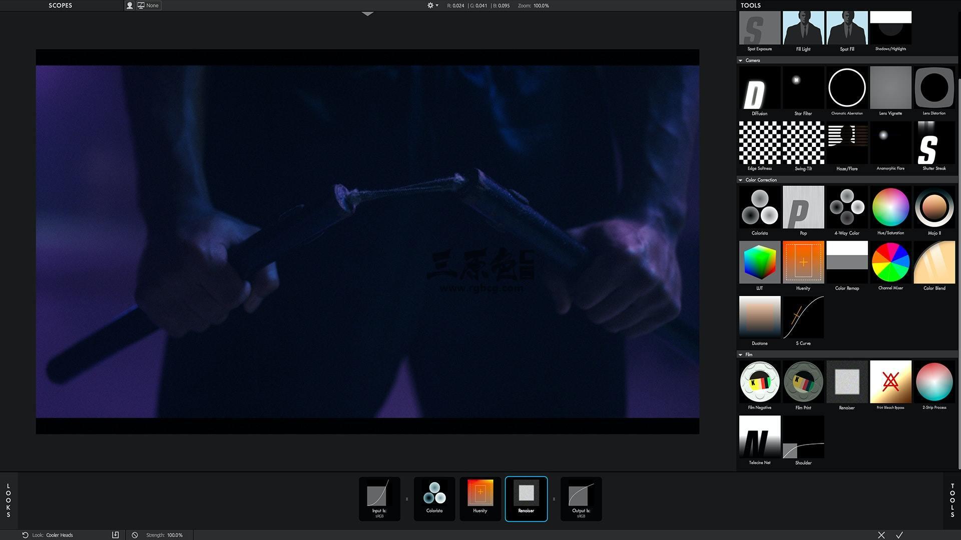 AE/PR插件 色彩校正和电影效果调色插件 Magic Bullet Looks v4 一键安装 Ae 插件-第1张