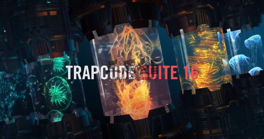 AE/PR 粒子光线特效插件合集 Trapcode Suite v16.0 Ae 插件-第1张