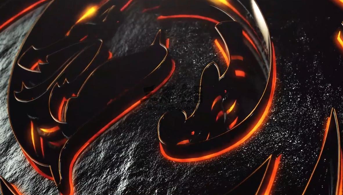 AE模板 黑色史诗标志展示和预告片Dark Epic Logo Reveal And Trailer Ae 模板-第1张
