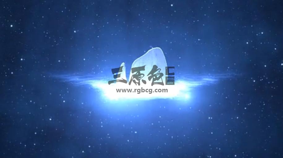 AE模板 - 太空能量光效遮罩LOGO标志显示 Space Logo Reveal Ae 模板-第1张