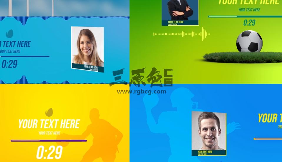 AE模板 音频可视化动态频谱UI动画效果 Audio and Podcast Visualizer Ae 模板-第1张