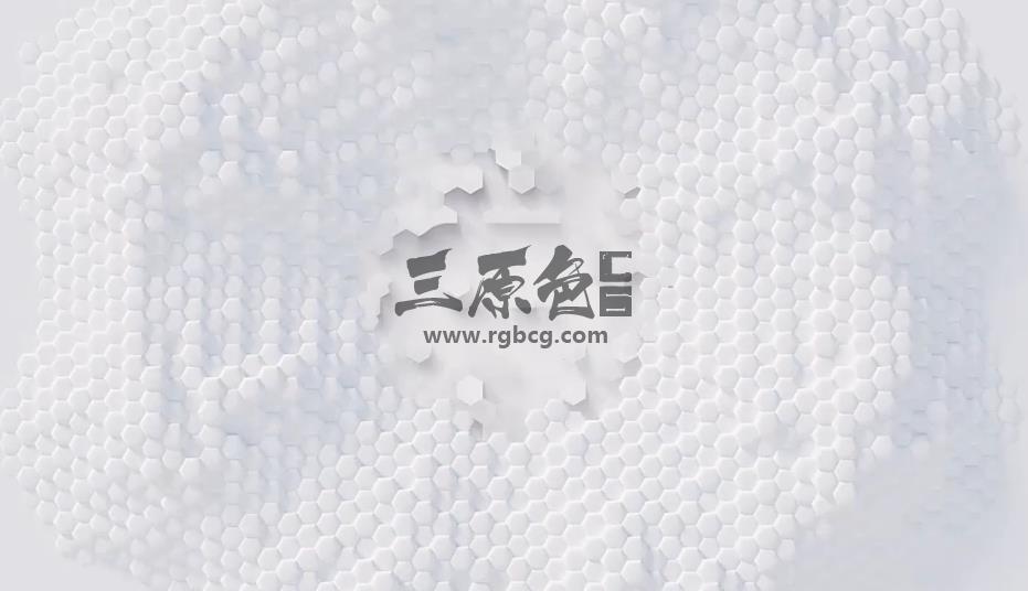 AE模板 简单六边形形状LOGO显示动画 Clean Simple Logo V4 Ae 模板-第1张