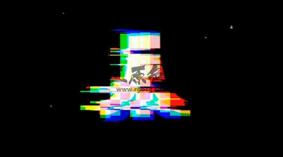 Pr基本图形Mogrt模板 色彩分离像素故障效果 Fast Pixel Glitch Logo Pr 模板-第1张