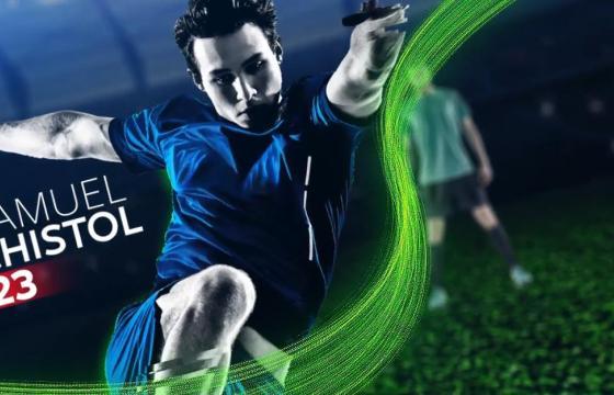 AE模板 足球运动开场队员介绍 Soccer Sport Opener