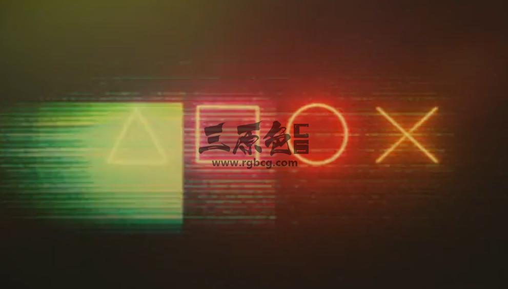 AE模板 - 霓虹灯文字按钮LOGO标志 Neon Buttons Logo Ae 模板-第1张