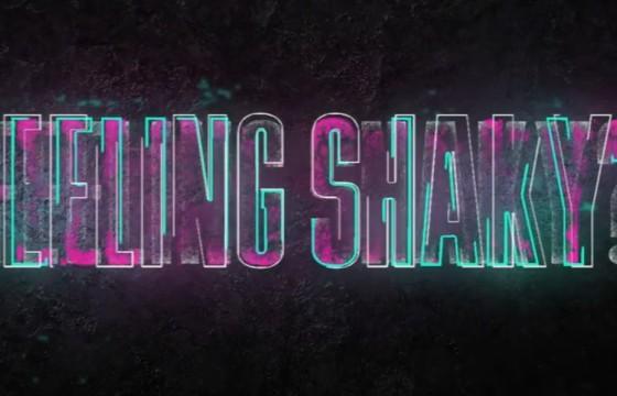 AE模板 霓虹效果文字标题摇晃入场 Title Shaker