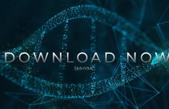 AE模板 NDA动画背景文字标题模板 Videohive DNA