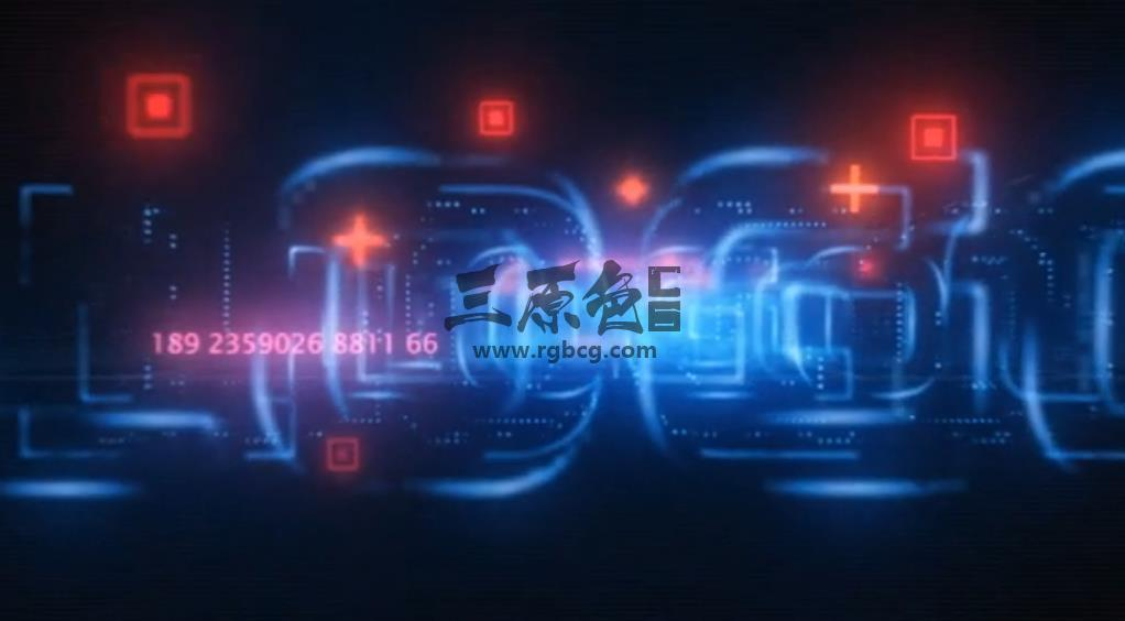 AE模板 - 网络科技风格LOGO标志展示片头片尾 Network Tech Logo Reveal Ae 模板-第1张