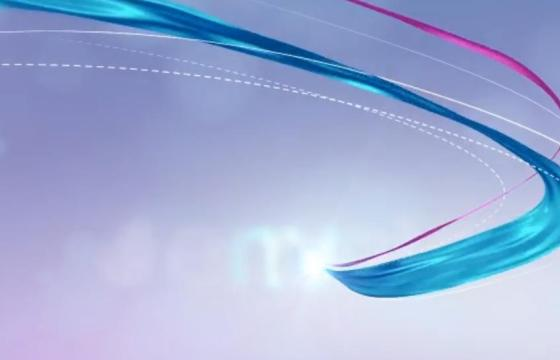 AE模板 彩色丝绸标志LOGO开场片头 Silk Logo Revel V2