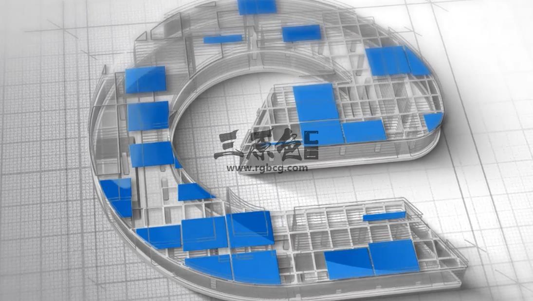 AE模板 工程施工建筑LOGO标志开场片头片尾 Logo Construction Ae 模板-第1张