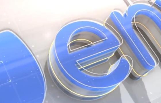 AE模板 – 三维E3D水晶文字标题动画开场片头 Digital Titles Element 3D