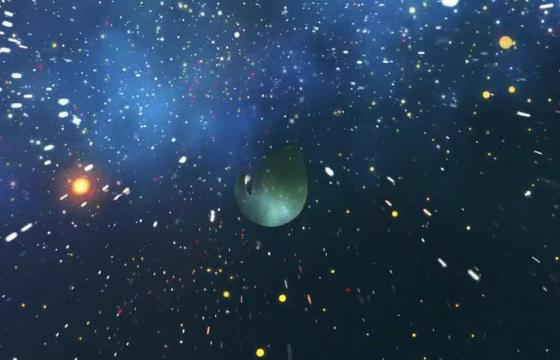 Pr Mogrt模板 – 宇宙空间文字标题LOGO显示 Space Titles Reveal