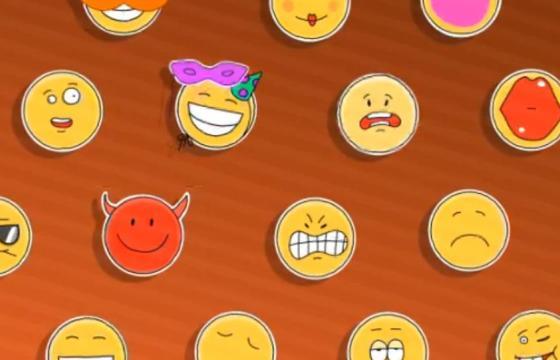 AE模板 – 22个表情符号图形动画表情包 Cartoon Emoji